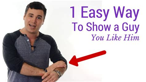 8 Ways To Tell If Your Boyfriends A Hermit by 1 Easy Way To Quot Show A You Like Him Quot