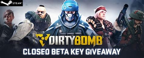 Mmobomb Giveaway - dirty bomb beta steam codes giveaway mmobomb com