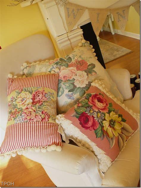 barkcloth pillows it s a pillow a cultivated nest