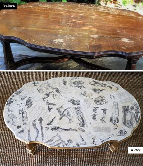 decoupage glass table top best 25 decoupage coffee table ideas on diy