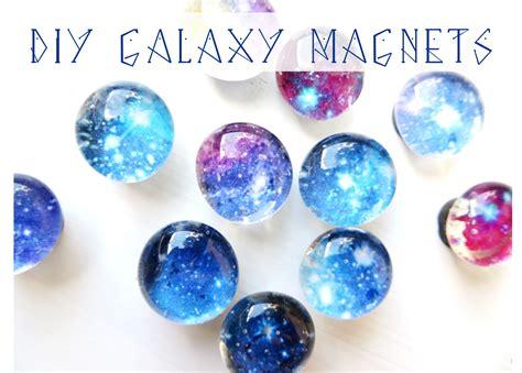diy magnets crafts mini galaxy magnets diy pop craft