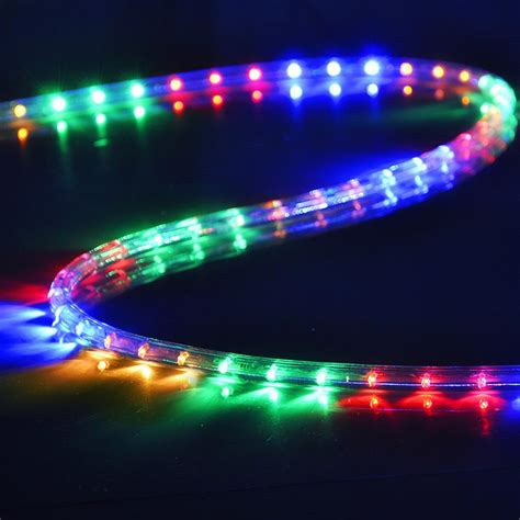 delight 150 50 led rope light holiday xmas valentine