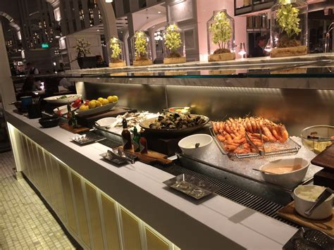 the conservatory buffet at crown casino melbourne