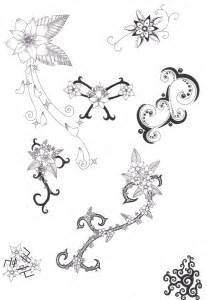 tattoo flower patterns flower tattoo designs 4 by crazyeyedbuffalo on deviantart