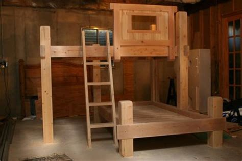 Woodwork 4x4 Bunk Bed Plans Pdf Plans