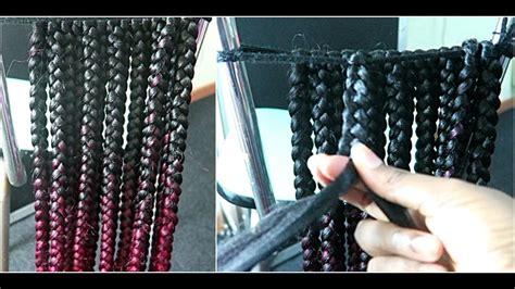 pre braided track hair track hair already braided pre braided hair on the track