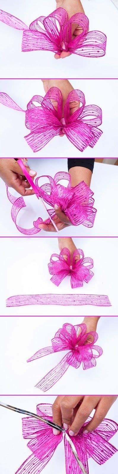 learn how to make this pretty bow for your gifts this year
