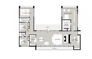 L Shaped Garage Plans L Shaped House Plans With Attached Garage U Shaped House