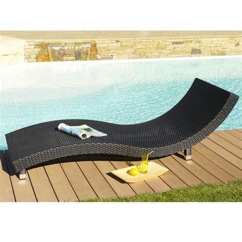 Bain De Soleil Resine 3778 by Chaise Longue En Resine Tressee Design En Image
