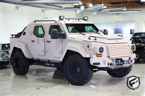 Terradyne Gurkha is a wild armored SUV, and it's for sale