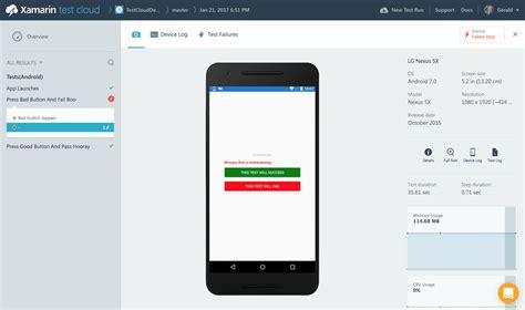 xamarin testing tutorial xamarin test cloud building 5 star apps dotnetcurry