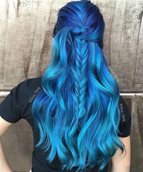 sapphire hair color 24 photos of blue hair color that us away 2017