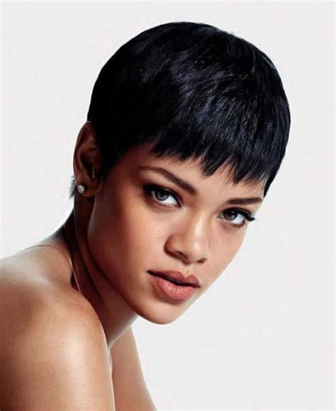rihanna hairstyles cut 15 best rihanna pixie cuts short hairstyles 2017 2018