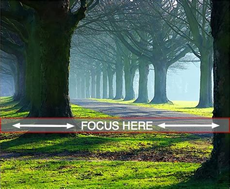 Landscape Photography Where To Focus Where To Focus In Landscape Photography
