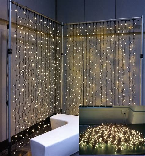 230v 220v high quality wedding decor curtain light indoor