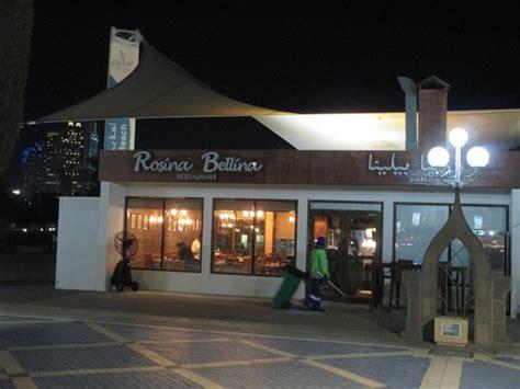 corniche abu dhabi restaurants rosina bellina abu dhabi restaurant reviews photos