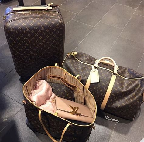 Louis Vuittons Ultimate Carry On Bag Travel Essentials by Best 25 Luxury Luggage Ideas On Chanel