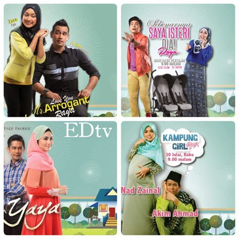 film love you mr arrogant raya my ryz jadual tayangan telemovie raya di anugerah syawal tv3