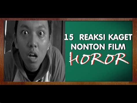 nonton film horor nenek gayung mengejutkan 15 reaksi kaget nonton film horor parody