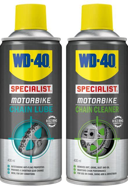 WD40 Specialist Motorbike Chain Lube   Cleaner 400ml