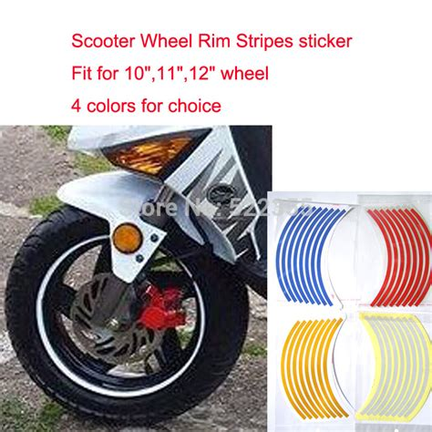 Roller Aufkleber Streifen by Online Buy Wholesale Scooter Sticker Packs From China