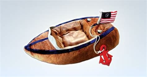 boat dog bed with anchor toy luxe properties design2share home decorating interior
