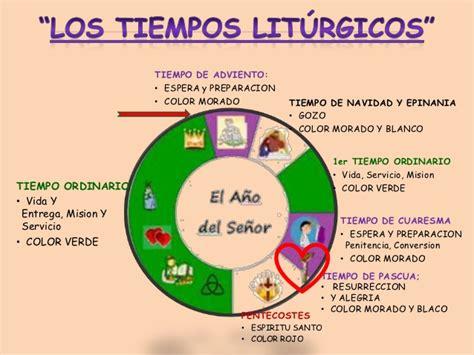 colores del ano liturgico calendario liturgico