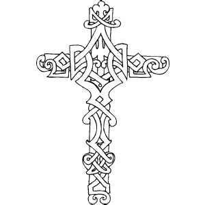 coloring pages for adults crosses cross9 coloring page