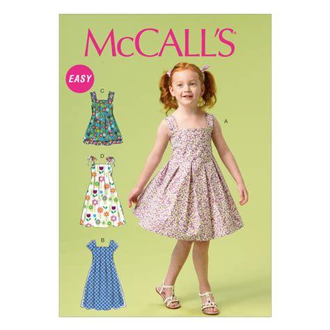 dress pattern joann fabrics children s girls dresses 6 7 8 jo ann
