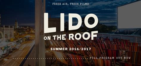 cinema on the roof lido on the roof