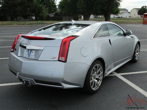 Two Door Cadillac Cts by 2012 Cadillac Cts V Coupe 2 Door 6 2l One Owner Only