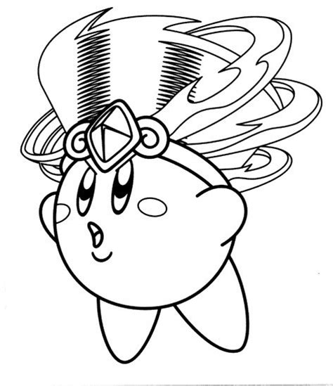 10 best images about kirby coloring pages on pinterest