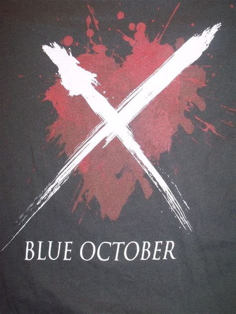 october tattoos blue october x based on justin furstenfeld s