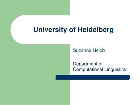 Powerpoint Layout Uni Heidelberg   ppt university of heidelberg powerpoint presentation