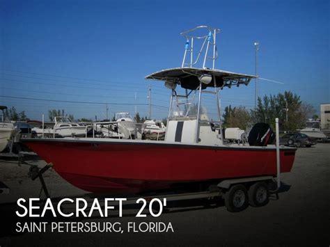seacraft boats for sale florida seacraft master angler 20 for sale in saint petersburg fl