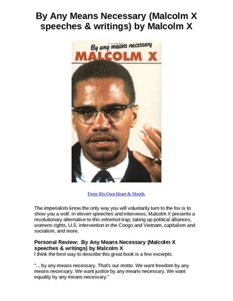 by any means necessary malcolm x speeches by any means necessary malcolm x speeches writings by