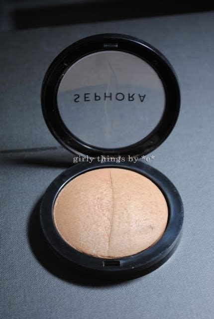 Review Sephora Brick Bronzer by Product Review Sephora Microsmooth Foundation Powder