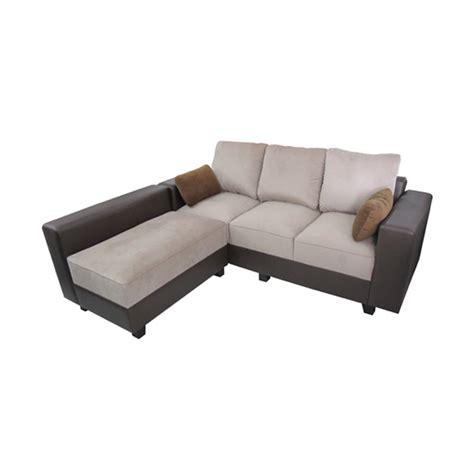 Sofa Sudut Coklat jual daily deals creova sofa l style pandora coklat