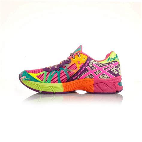 asics rainbow running shoes asics gel noosa tri 9 gs running shoes