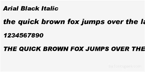 Free Arial Black Outline Font by Arial Black Italic For Free View Sle Text Rating And More On Fontsgeek