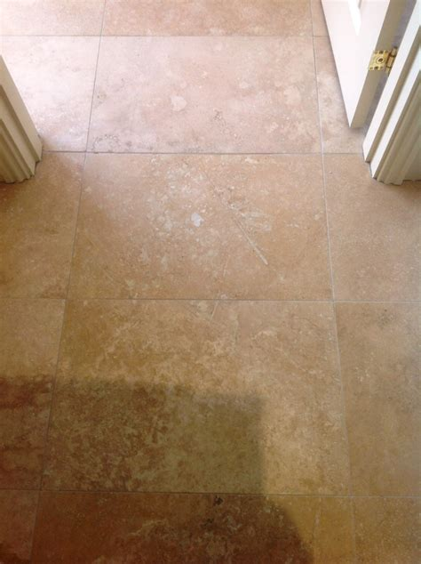 Travertine Posts Stone Cleaning And Polishing Tips For   filling holes in travertine floor tile gurus floor