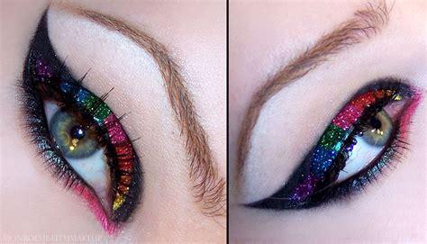 Eyeliner Tattoo Violent Eyes | monroe misfit makeup beauty blog review violent eyes