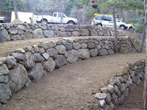 Rock Retaining Wall 25 Best Ideas About Rock Retaining Wall On