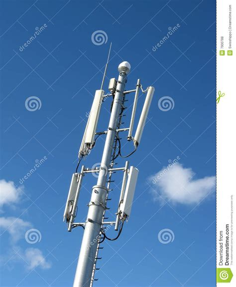 gsm antenna royalty free stock photos image 7900788
