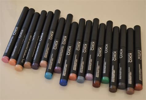 Eyeshadow Stick deluxe kiko lasting stick eyeshadow swatches