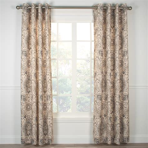 curtain top indoor outdoor grommet top curtains and panels