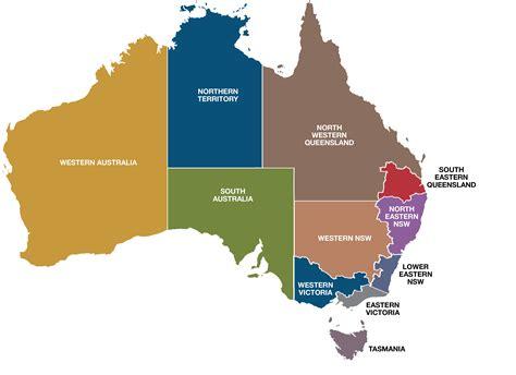 regional map of australia regional map of australia wichweight