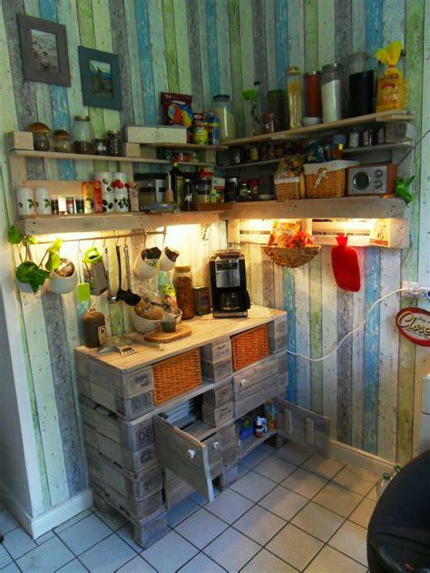 How To Build A Small Kitchen Island schrank aus europaletten k 252 chenschrank palettenversion