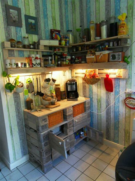 Euro pallet kitchen cabinet   small cupboard, pallet
