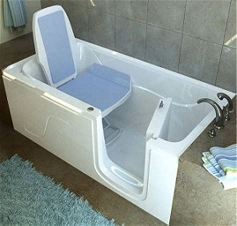 Step In Bathtub by Meditub Walk In Bathtubs Provide A Safe And Relaxing